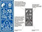Motivschablone Asian Art