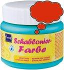 Schablonierfarbe Rosenrot