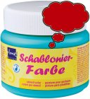 Schablonierfarbe Erdbeerrot