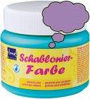 Schablonierfarbe Flieder
