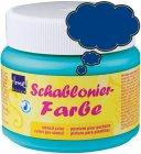 Schablonierfarbe Königsblau