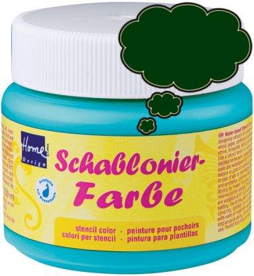 Schablonierfarbe Efeugrün