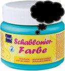 Schablonierfarbe Ebenholz