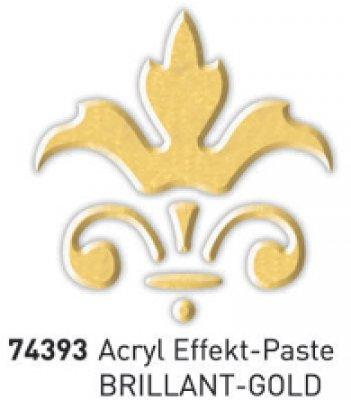 Effekt-Paste Brillant-Gold