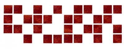 Dekor-Schablone Mosaik