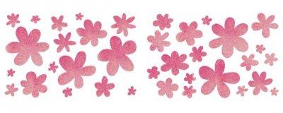 Dekor-Schablone Blumenmeer 1