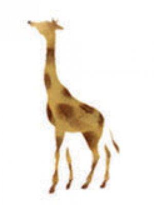 Wandschablone Giraffe