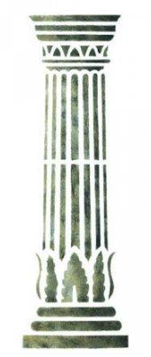 Wandschablone Säule 1